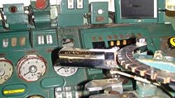 EF63運転台